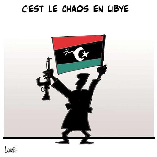 C'est le chaos en libye - Lounis Le jour d'Algérie - Gagdz.com