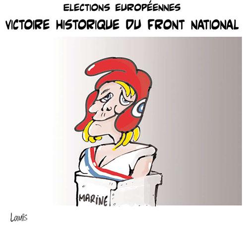 Elections européennes: Victoire historique du front national - Lounis Le jour d'Algérie - Gagdz.com
