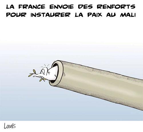 La France envoie des renforts pour instaurer la paix au Mali - Lounis Le jour d'Algérie - Gagdz.com