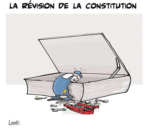 La révision de la constitution - Lounis Le jour d'Algérie - Gagdz.com