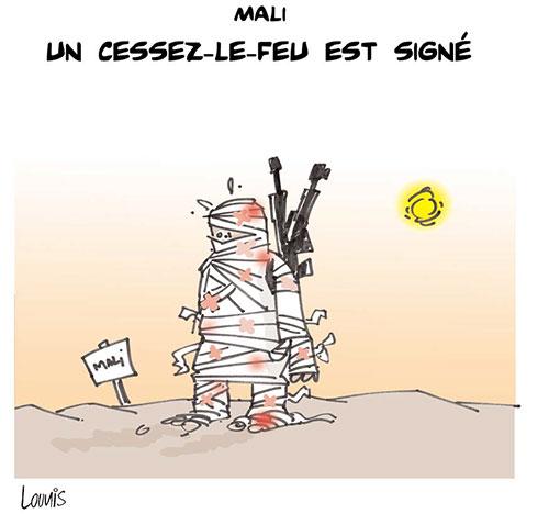 Mali: Un cessez le feu est signé - Lounis Le jour d'Algérie - Gagdz.com