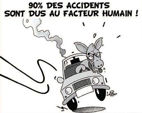 90% des accidents sont dus au facteur humain - Vitamine - Le Soir d'Algérie - Gagdz.com