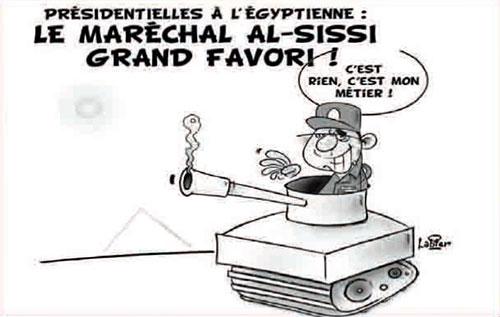 Présidentielle à l'égyptienne: Le maréchal Al-Sissi grand favori - Vitamine - Le Soir d'Algérie - Gagdz.com