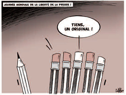 Journée mondiale de la liberté de la presse - Vitamine - Le Soir d'Algérie - Gagdz.com