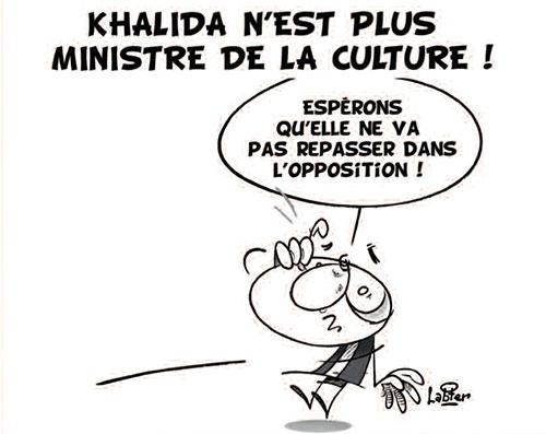 Khalida n'est plus ministre de la culture - Vitamine - Le Soir d'Algérie - Gagdz.com
