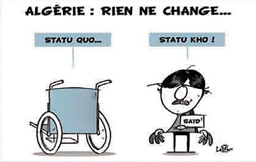 Algérie: Rien ne change