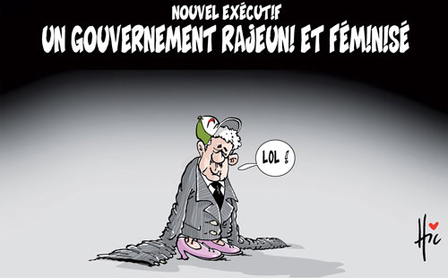 Nouvel executif: Un gouvernement rajeuni et féminisé - Le Hic - El Watan - Gagdz.com