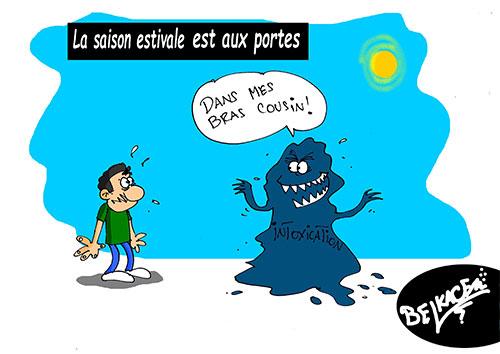 La saison estivale est aux portes - Belkacem - Le Courrier d'Algérie - Gagdz.com
