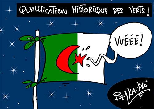 Qualification historique des verts - Belkacem - Le Courrier d'Algérie - Gagdz.com