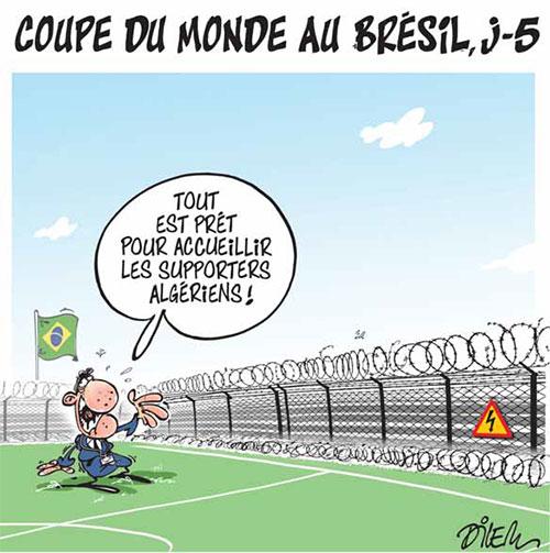Br sil page 2 sur 3 caricatures et humour - Coupe du monde foot bresil ...