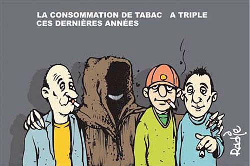La consommation de tabac a triplé ces dernières années - Ghir Hak - Les Débats - Gagdz.com