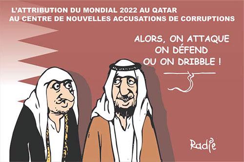 L'attribution du mondial 2022 au Qatar au centre de nouvelles accusations de corruptions - Ghir Hak - Les Débats - Gagdz.com