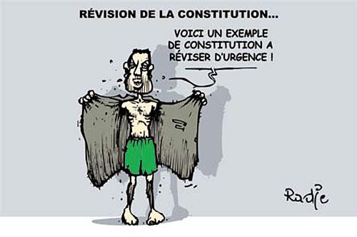 Révision de la constitution