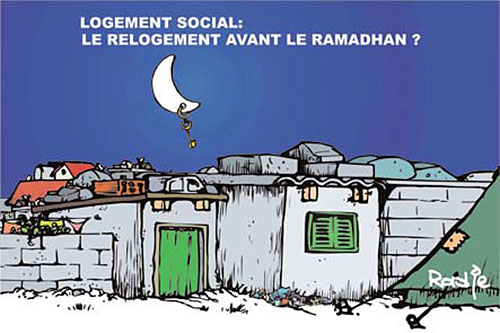 Logement social: Le relogement avant le ramadhan ? - Ghir Hak - Les Débats - Gagdz.com