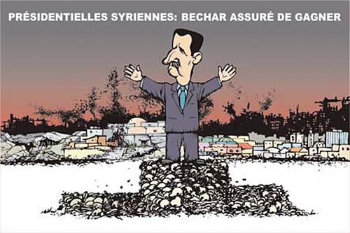 Présidentielles syriennes: Bechar assuré de gagner - Ghir Hak - Les Débats - Gagdz.com