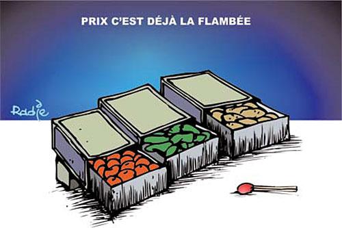 Prix, c'est déjà la flambée - Ghir Hak - Les Débats - Gagdz.com