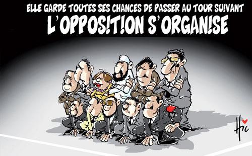 Elle garde toutes ses chances de passer au tour suivant: L'opposition s'organise - Le Hic - El Watan - Gagdz.com