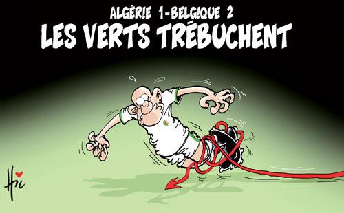 Algérie 1-Belgique 2: Les verts trébuchent - Le Hic - El Watan - Gagdz.com