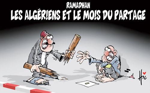 Ramadhan: Les Algériens et le mois du partage - Le Hic - El Watan - Gagdz.com