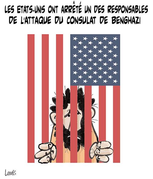 Les Etats unis ont arrêté un des responsables de l'attaque du consulat de Benghazi