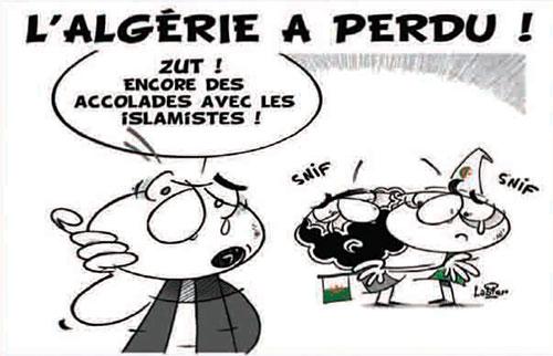 L'Algérie a perdu