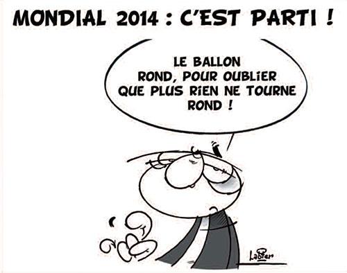 Mondial 2014: C'est parti - Vitamine - Le Soir d'Algérie - Gagdz.com