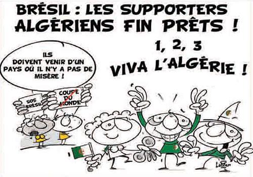 Brésil: Les supporters algériens fin prêts - Vitamine - Le Soir d'Algérie - Gagdz.com