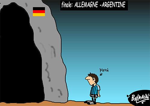 Finale: Allemagne – Argentine