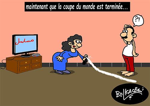 Maintenant que la coupe du monde est terminée - Belkacem - Le Courrier d'Algérie - Gagdz.com
