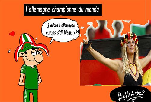 L'Allemagne championne du monde - Belkacem - Le Courrier d'Algérie - Gagdz.com