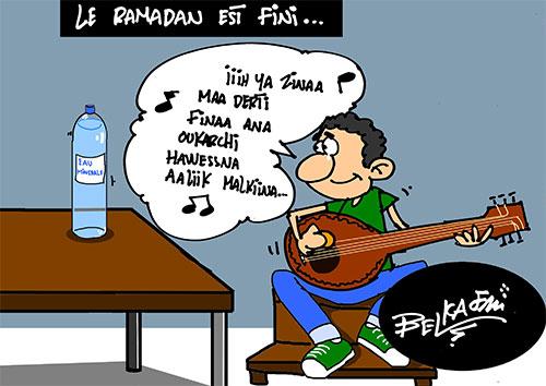Le ramadan est fini - Belkacem - Le Courrier d'Algérie - Gagdz.com