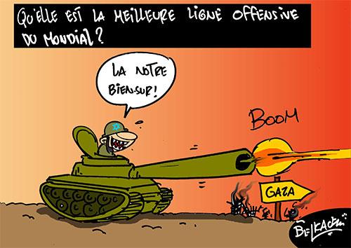Qu'elle est la meilleure ligne offensive du mondial ? - Belkacem - Le Courrier d'Algérie - Gagdz.com