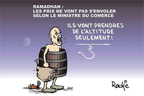 Ramadhan: Les prix ne vont pas s'envoler selon le ministre du commerce - Ghir Hak - Les Débats - Gagdz.com