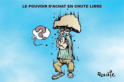 Le pouvoir d'achat en chute libre - Ghir Hak - Les Débats - Gagdz.com