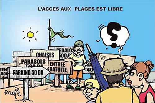 L'accès aux plages est libre - Ghir Hak - Les Débats - Gagdz.com