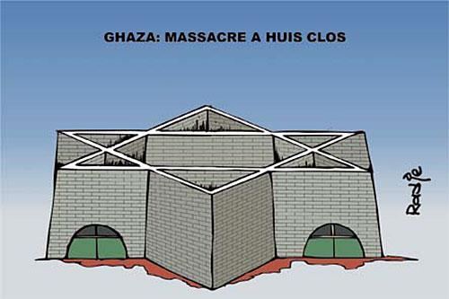 Ghaza: Massacre à huis clos - Ghir Hak - Les Débats - Gagdz.com
