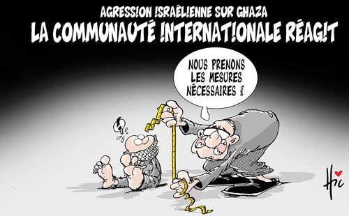 Agression isréélienne contre Ghaza: La communauté internationale réagit - Le Hic - El Watan - Gagdz.com