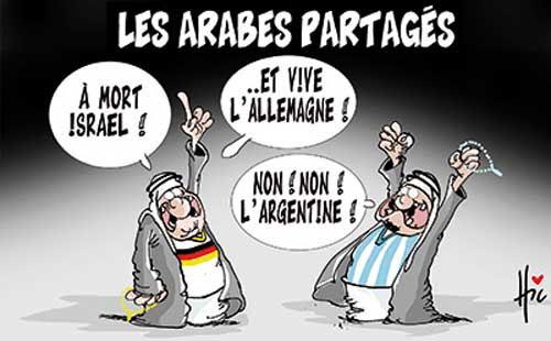 Les Arabes partagés - Le Hic - El Watan - Gagdz.com