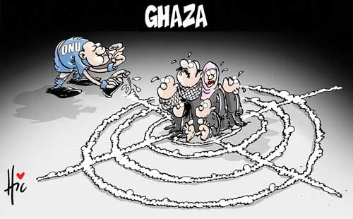 Ghaza et l'ONU - Le Hic - El Watan - Gagdz.com