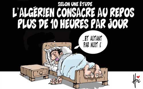 Selon une étude: L'algérien consacre au repos plus de 10 heures par jour - Le Hic - El Watan - Gagdz.com