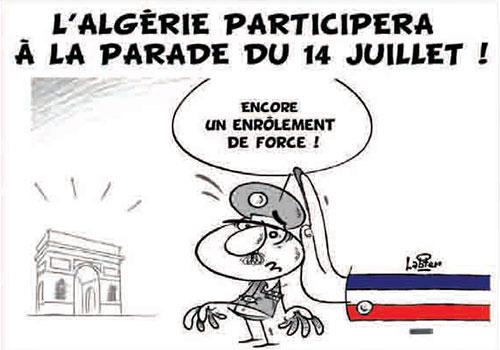 L'Algérie participera à la parade du 14 juillet - Vitamine - Le Soir d'Algérie - Gagdz.com
