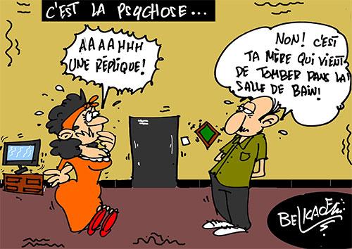 C'est la psychose - Belkacem - Le Courrier d'Algérie - Gagdz.com