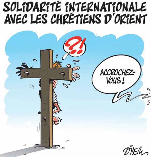 Solidarité internationale avec les chrétiens d'orient