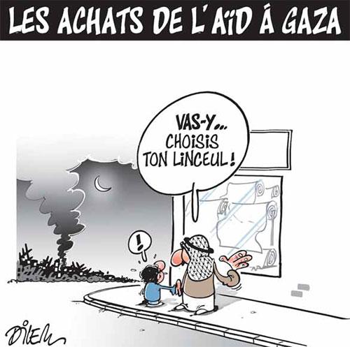 Les achats de l'aïd à Gaza - Dilem - Liberté - Gagdz.com