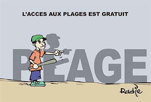 L'accès aux plages est gratuit - Ghir Hak - Les Débats - Gagdz.com