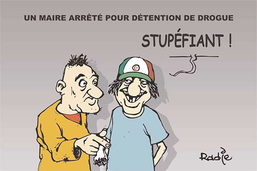 Un maire arrêté pour détention de drogue - Ghir Hak - Les Débats - Gagdz.com