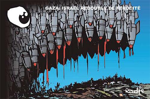 Gaza: Israël redouble de férocité - Ghir Hak - Les Débats - Gagdz.com
