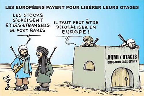 Les européens payent pour liberer leurs otages - Ghir Hak - Les Débats - Gagdz.com