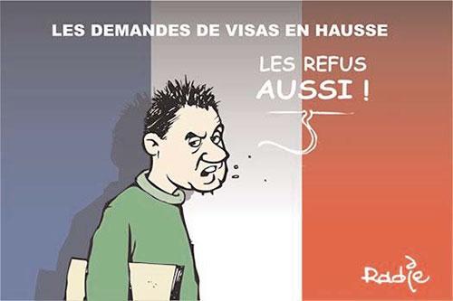 Les demandes de visas en hausse - Ghir Hak - Les Débats - Gagdz.com