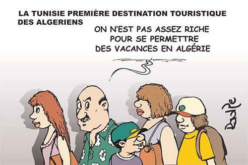 La Tunisie première destination touristique des algériens